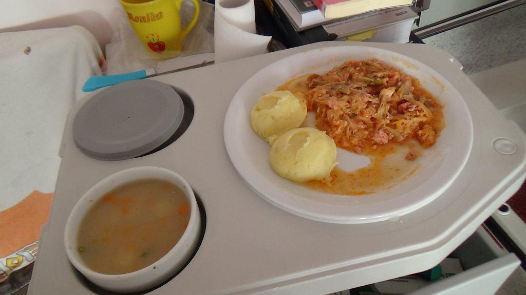 Jedzenie w szpitalu