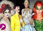Fryzura i makija� na Halloween - gwiazdy w r�nych ods�onach