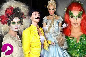 Fryzura i makijaż na Halloween - gwiazdy w różnych odsłonach