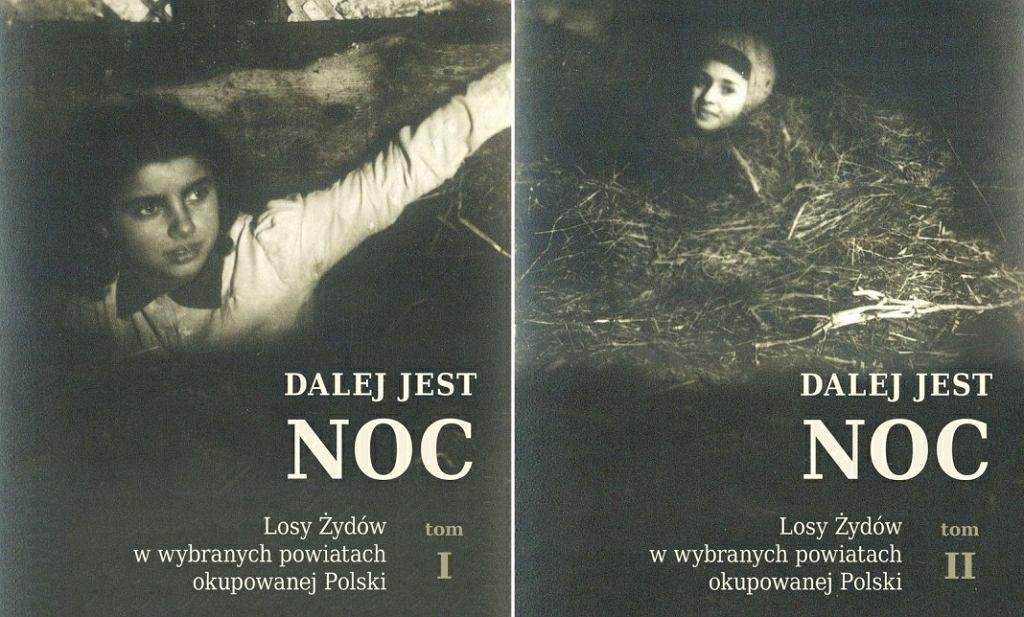 'Dalej jest noc' - okładka książki