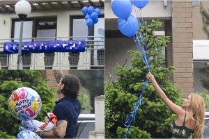 Ma�gorzata Rozenek 1 czerwca sko�czy�a 38 lat. Zakochany w niej po uszy Rados�aw Majdan przygotowa�a dla ukochanej niezwyk�� niespodziank�. W progu powita�o j� mn�stwo balon�w. Najciekawsze jednak zobaczy�a, kiedy spojrza�a na balkon.