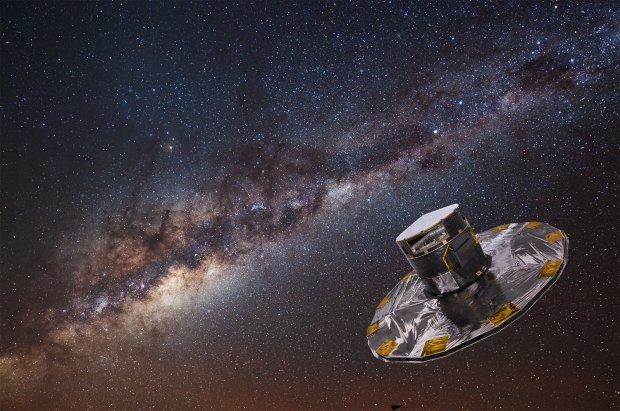 Gaia odsłoniła dziś dwa miliony gwiazd