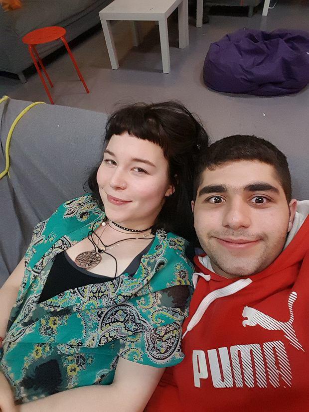 Pani Kasia przyjęła Irańczyka i pomaga mu szukać mieszkania