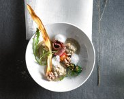 Ravioli z borowikami i kozim serem