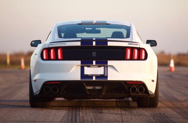 Ford Mustang po wizycie u Hennessey ma a�... 808 KM