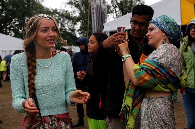 Wioska Hare Kryszna. Woodstock 2016.