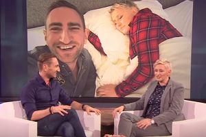 'Wizualizacja' wizyty Łukasza Jakóbiaka u Ellen DeGeneres