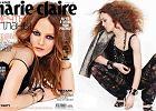 """Rockowa Vanessa Paradis w """"Marie Claire"""" - �wietne stylizacje seksownej 40-latki [ZDJ�CIA]"""