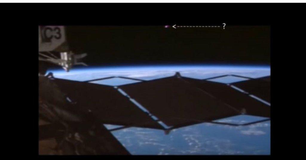 Kadr z transmisji wideo przeprowadzonej przez NASA