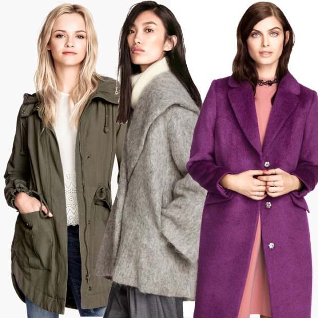 H&M: kurtki i płaszcze na sezon jesień/zima 2014