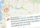 Plac�wka Lekarzy Bez Granic zniszczona na p�nocy Syrii