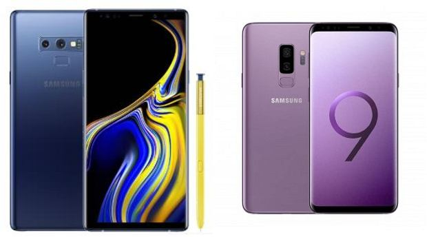 Galaxy S9 i Galaxy Note 9
