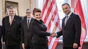 Georgette Mosbacher nową ambasador USA w Polsce