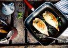 Kalmary faszerowane risottem z chorizo
