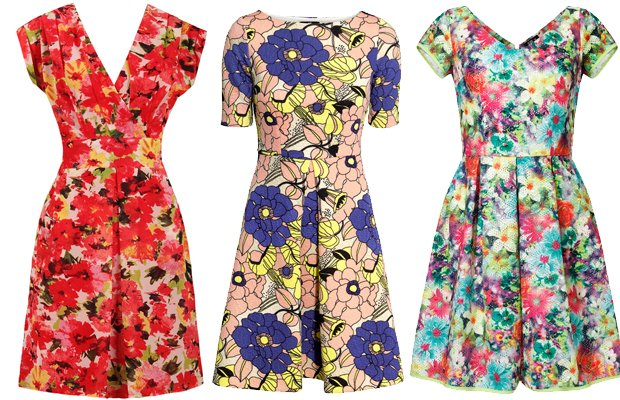 1c5635cf52 Sukienki w kwiaty z wiosenno - letnich kolekcji - zdjęcie nr 46