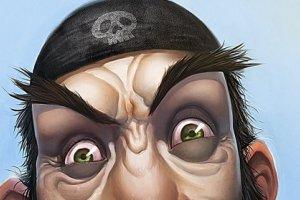 Piraci z internet�w - kl�twa prawnej �ciemy