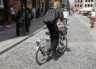 Rowery wjad� na Nowe Miasto. Star�wka nadal z zakazem