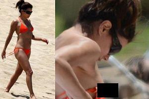 Eva Longoria i jej niesforne bikini