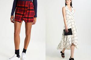 349e33f7620e1 Ubrania w kratę na co dzień - ten wzór będzie modny latem