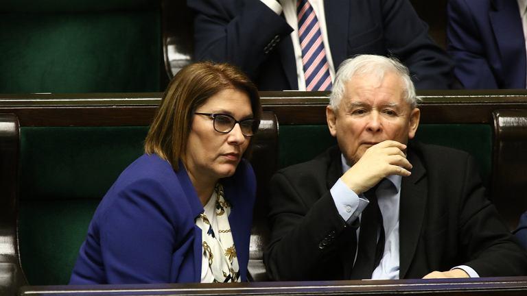 Beata Mazurek, Jarosław Kaczyński