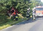 Cztery śmiertelne ofiary wypadku pod Kołobrzegiem. Bus wypadł z trasy