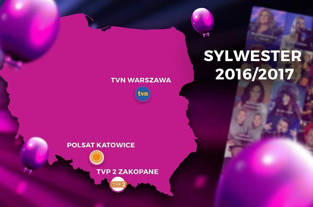 Sylwester tuż, tuż. Największe polskie stacje walczą jak lwy o Waszą uwagę. Co wybierzecie zależy od Was, tymczasem my dla Was już dziś przedkładamy menu serwowane w telewizji podczas sylwestrowej nocy.