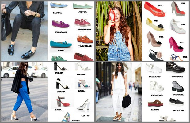 c5d6407d Najmodniejsze modele butów na sezon wiosna/lato 2014