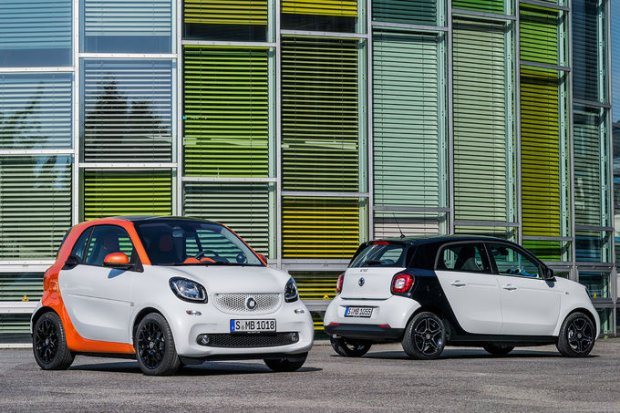 Smart fortwo i forfour | Ceny w Polsce