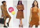 Ubrania i dodatki w modnych odcieniach orzecha