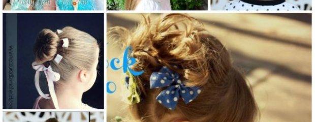 Fryzury dla dziewczynek: do szko�y, przedszkola i nie tylko