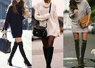 Sukienka czy sweter - nie musisz wybierać! Trzy stylizacje ze swetrowymi sukienkami w roli głównej