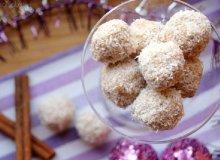 Trufle serowo-kokosowe - ugotuj
