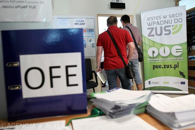 29.07.2014 Lublin . Ostatni dzień na podjecie decyzji czy emerytura ma być tylko w ZUS , czy w OFE