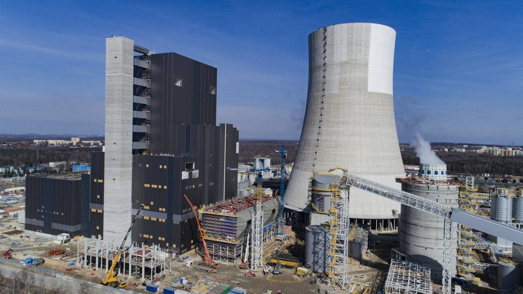 W Elektrowni Jaworzno powstaje nowoczesny blok energetyczny