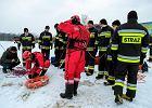 Stan chłopca, który wpadł pod lód, jest bardzo ciężki