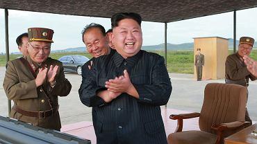 Dyktator Korei Północnej Kim Dzong Un (fot. Korean Central News Agency/Korea News Service via AP)