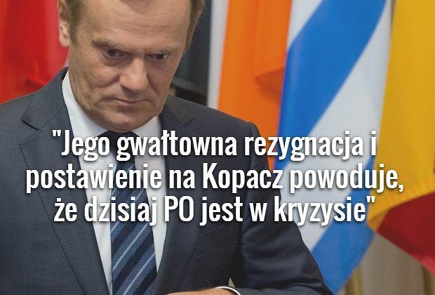 prof. Mikołaj Cześnik ostro ocenia decyzję Tuska o wyjeździe do Brukseli