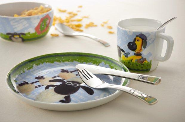 Kolorowa zastawa stołowa dla dzieci - na dobry apetyt