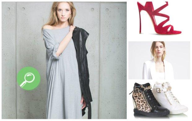Warszawska moda- białe marynarki, sukienki z dżerseju i buty na koturnie