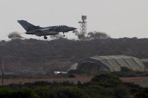 Brytyjska baza lotnicza na Cyprze czasowo zamkni�ta. Z samolotu RAF odpad�y pociski rakietowe
