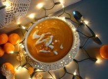 Zupa z dyni z mandarynkami - ugotuj