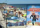 Rewolucja w kurorcie nad Bałtykiem. Darłowo zakaże rozkładania parawanów na plaży