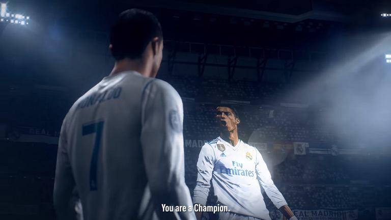 FIFA 19 - Ronaldo w koszulce Realu Madryt