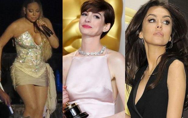Jak my - raz chudn�, raz tyj�, maj� potkni�cia. A Mariah? Ona tylko... Za to kochamy gwiazdy i celebryt�w
