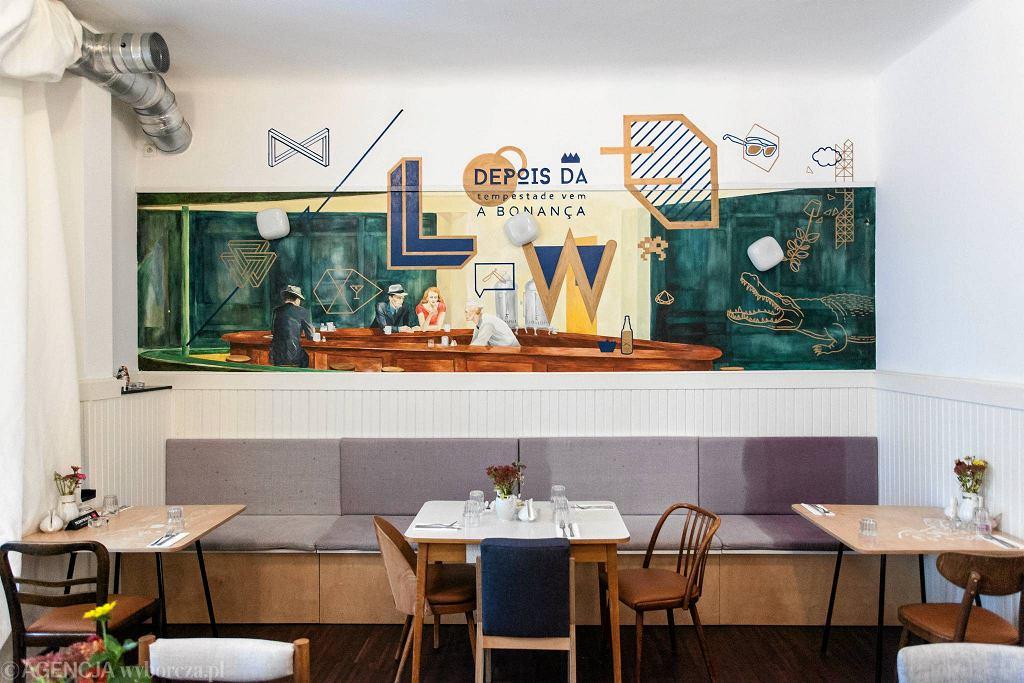 Restauracja 'Lowe' przy ul. Poznańskiej 38/42 / DAWID ZUCHOWICZ