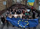 Protesty w miastach na Ukrainie. Tymoszenko: Dzia�ania w�adz to przewr�t
