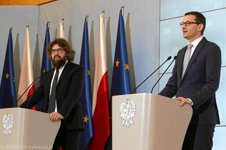 Piotr Woźny i Mateusz Mazowiecki