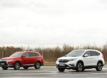 Mitsubishi Outlander 2.0 vs Honda CR-V 2.0 - wciąż w dobrej formie