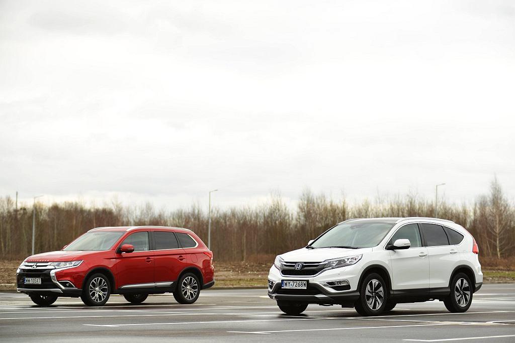Mitsubishi Outlander 2.0 vs Honda CR-V 2.0
