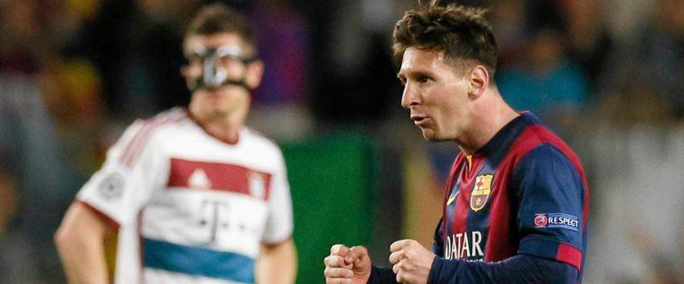 Neymar dobija Bayern w ko�c�wce! Wielki Messi! Bawarczycy na kolanach. Co! Za! Mecz!